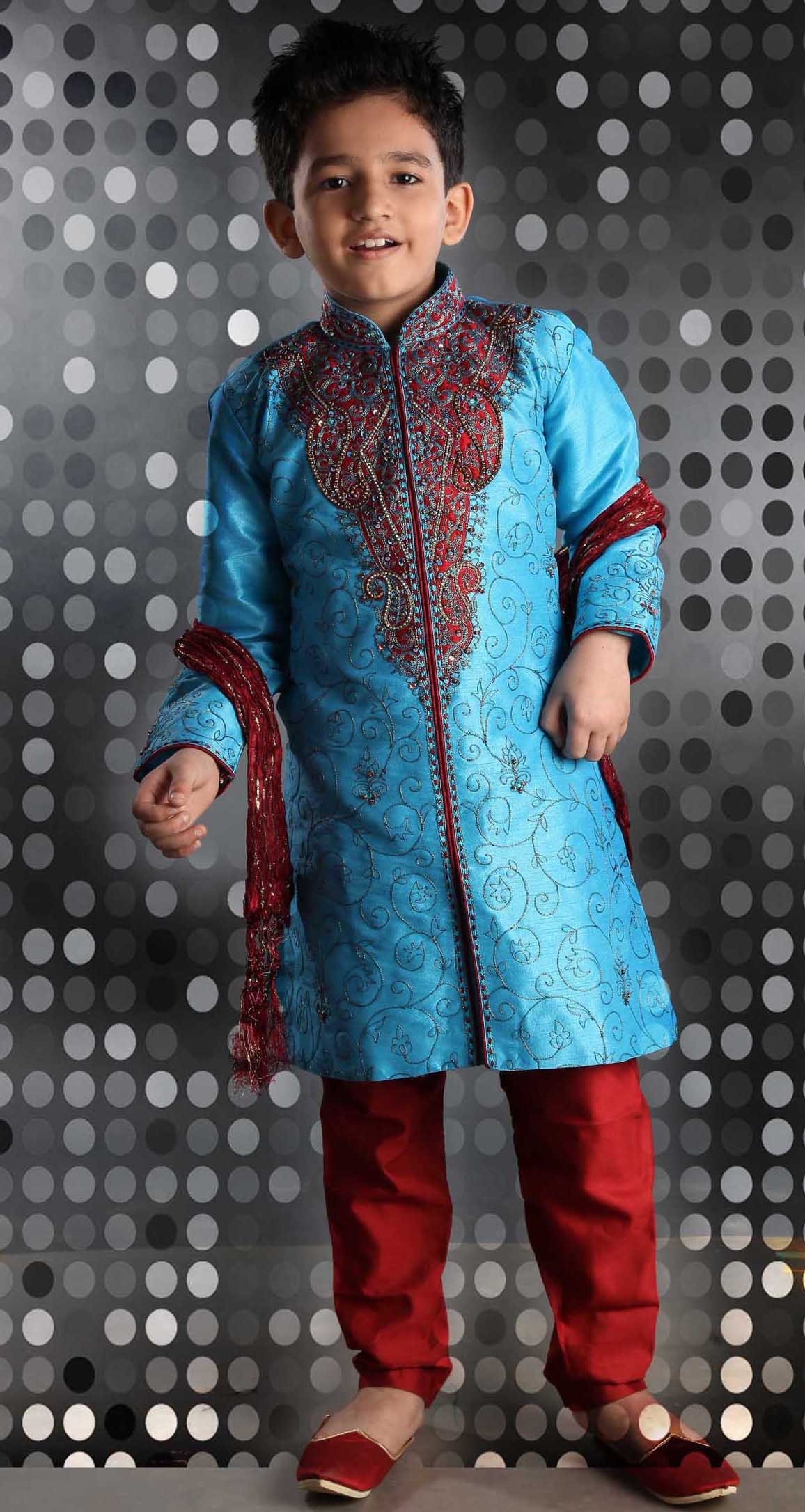 WEDDING SHERWANI KIDS 1 – Rahul Sarees