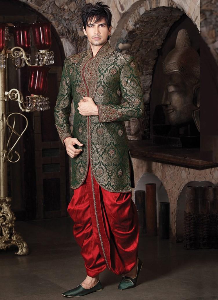 Dhoti Sherwani Men 2 Rahul Sarees
